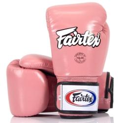 Bokso pirštinės FAIRTEX pink (BP).