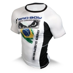 Bad Boy Brazil Rash Guard - S/S